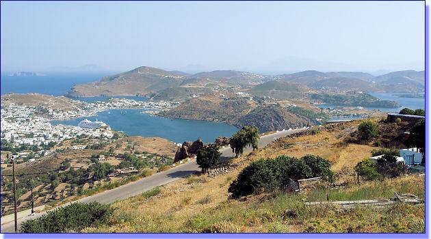 Panorama - Bucht von Skala